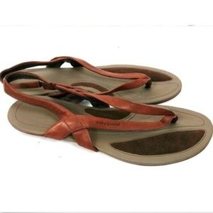 Patagonia Leather Band Thong Flat Sandal